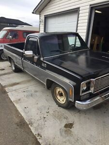 1978 Chevy 1/2 Ton 2wd For Sale