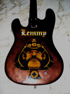 airbrush bass - Hommage Lemmy
