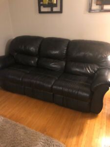 Black leather couches for sale!!!