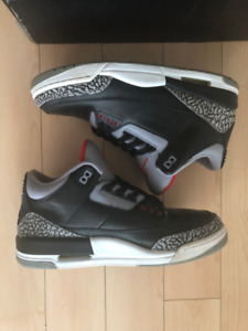 huge discount 806e8 fb8d0 Jordan 3 Retro CDP Black Cement (2008) Countdown Pack