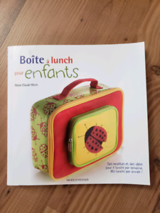 Cooking book for kids lunch -French