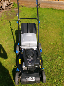 Macallister mprm 46hp petrol lawnmower
