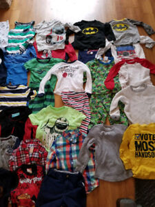 Huge used 45 piece lot of 4T clothes