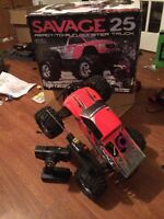 Hpi savage nitro 4x4 monster truck used 4 times