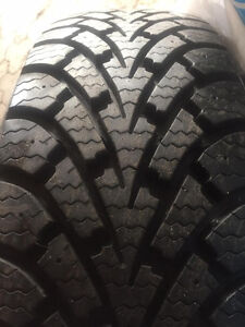 GOODYEAR WINTER NORDIC Snow Tires on Rims (4)