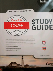 Comptia Security+ & CSA+ *NEW* eBook and Book