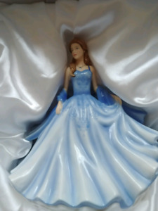 Royal Doulton figurine signed by Michael Doulton, box included