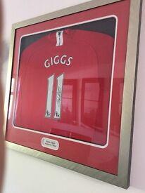 Manchester United Shirt Ryan Giggs