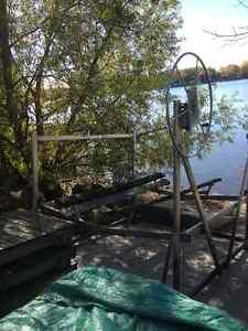 Boat lift - Elevateur Bateau West Island Greater Montréal image 4