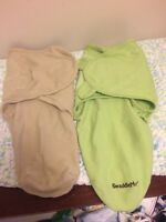Two swaddle me blankets for sale!!!!