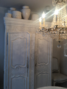 WHITE HOME FURNISHINGS : LAMPS, CHAIRS, TABLES, ARMOIRES,