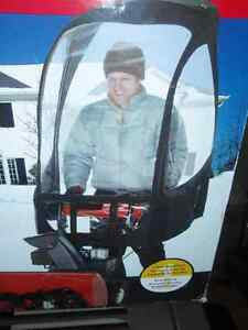 Snowblower cab