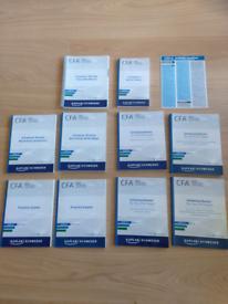CFA Level 3 (III) Exam prep 10 books package Kaplan Schweser (2019)