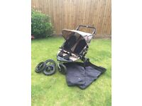 Nipper 360 Out n About Double Pushchair