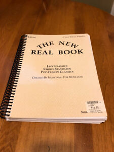 The New Real Book - over 400 pages of music partitions