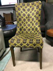 Pattern Fabric Chair