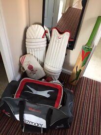 Slazenger cricket kit