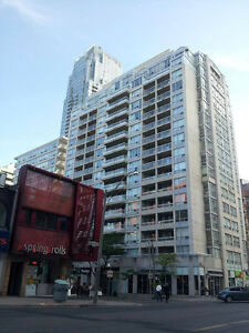 Yonge & Eglinton Fully Furnished one bedroom+solarium