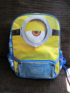 MINIONS BACKPACK (NEVER USED)