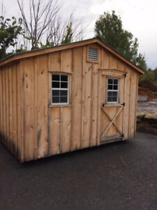 Amish shed - never used 8' by 12'