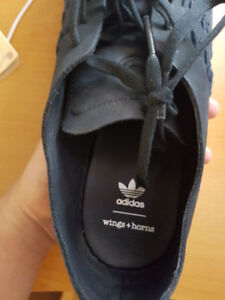Pads Adidas Campus Wings & Horns Navy Size 10