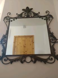 Bevelled Edge Statement Mirror