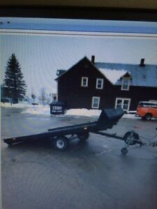 2008 double snowmobile trailer REDUCED $900 firm