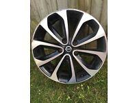 Genuine Nissan Qashqai N-Tec+ 2012 Alloy Wheel