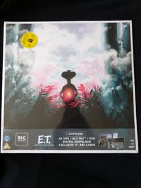 New E.T big sleeve blu ray 4k