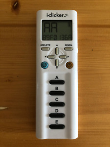 iClicker 2 Remote (Like New Condition)