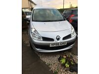 CHEAP NEW SHAPE CLIO 1.1 2006/56 plate full mot