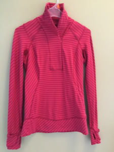 Lululemon asymmetrical sweater. Size 6. New condition $40