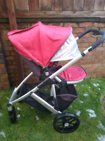 Uppababy Vista pram/carry cot and pushchair