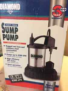 Sump Pump (brand new, never out of the box) London Ontario image 4