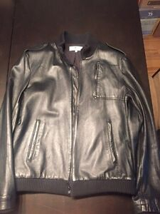 Lucky Seven Leather Bomber