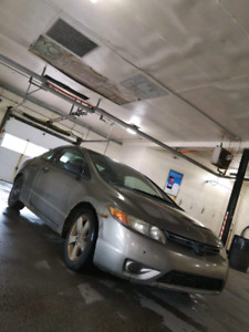 2006 Honda Civic 5 Speed Coupe! Inspected ! 1500$
