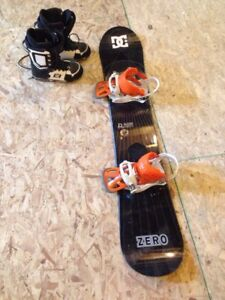 Board, boots, bindings