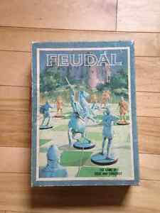 FEUDAL The Game of Siege and Conquest