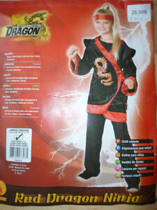 Costume d'Halloween Ninja-Enfant