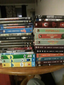 Selling multiple series and a few movies