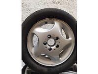 Mercedes Vaneo X 4 alloys and tyres