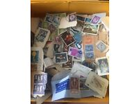 Job lot of stamps