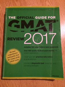 GMAT Official Guide 2017- Used/like new with NO markings
