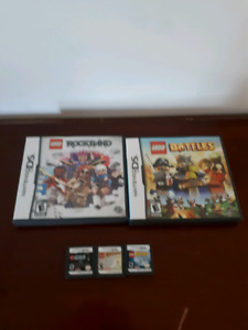 Nintendo  ds  Lego game lot of 5 games