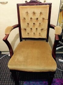 Antique Carved arm Chair