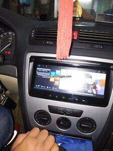 Skoda Fabia 2013 Car radio GPS android 6.0 Wifi navigation camer