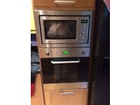 Integrated oven (microwave now sold)