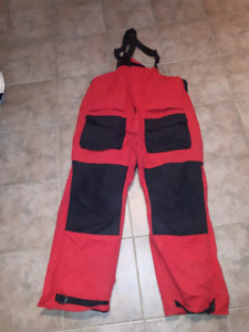 Idigear Arctic armor red ice fishing bibs / ski pants