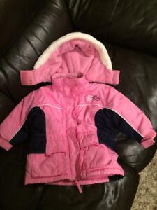 Pink Winter Coat - size 2T