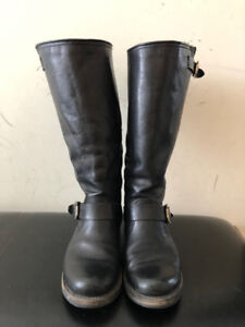 SELLING: WOMENS VERONICA SLOUCH WIDE CALF FRYE BOOTS SIZE 7.5